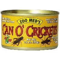 ZOOMED カン・オー クリケット CAN O' CRICKETS 35g 爬虫類 餌 エサ 缶詰