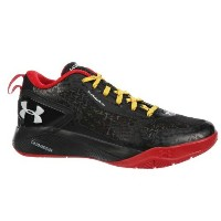 Under Armour Clutchfit Drive 2 Lowメンズ Black/Red/White アンダーアーマー バッシュ クラッチフィットドライブ2
