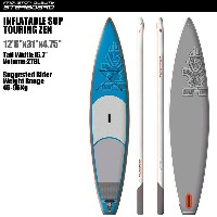 "SUP インフレータブル SUP 12'6""x31"" ツーリング ゼン STARBOARD INFLATABLE SUP TOURING ZEN 12'6""x31"" 2016 パドル,リーシュ..."