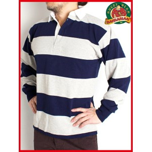 バーバリアン ラガーシャツ Barbarian Heavy-Weight Classic Rugby Shirt