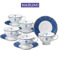NARUMI【ナルミ】シャンソネットコーヒーカップ&ソーサー5客セット5客碗皿 内祝い お返し 出産内祝い 結婚お...