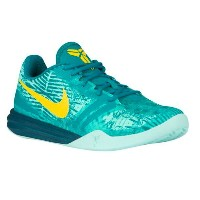Nike Kobe Mentalityメンズ Artisan Teal/Radiant Emerald/Light Retro/Yellow ナイキ メンタリティー バッシュ コービー