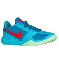 Nike Kobe Mentalityメンズ Clearwater/Light Blue Lacquer/Vapor Green ナイキ メンタリティー バッシュ コービー