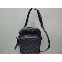★【LOUIS VUITTON】ルイ・ヴィトン ダミエグラフィット レムバッグ N41446【中古】送料無料