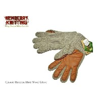 【NEWBERRY KNITTING】ニューベリーニッティング -Mens-Classic Racoon Hair Wool Glove-手袋