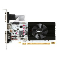MSI GeForce GT 730 グラフィックボード N730K-1GD5LP/OCV1