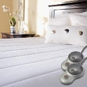 Sunbeam? Quilted Polyester Heated Mattress Pad, Queen [並行輸入品]
