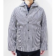 BUZZ RICKSON'S バズリクソンズ ヒッコリーストライププリズナージャケット『WWII HICKORY STRIPE WORK JACKET』【ミリタリー・ワーク】BR12746...