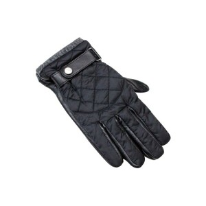 POLO RALPH LAUREN DIAMOND QUILTED LEATHER GLOVES (6G0011/001)ポロラルフローレン/手袋/グローブ/黒