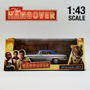 【Greenlight 1/43 The Hangover(2009) Mercedes Benz 280 SE Convertible with Tiger】ハングオーバー/グリーンライト...