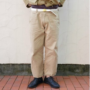 MASTER&Co.(マスターアンドコー)/CUTOFF CHINO PANTS with BELT -(82)BEIGE-