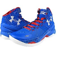 """Under Armour Curry 2 """"PROVIDENCE ROAD""""メンズ Royal/Red/White アンダーアーマー バッシュ ステフィンカリー"""
