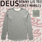 DEUS EX MACHINA/デウス エクス マキナ 長袖 BENNY L/S GREY MARLE_02P01Oct16
