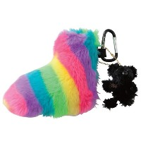 MU Sports Ladies Rainbow Dog Putter Cover【ゴルフ レディース>ヘッドカバー】