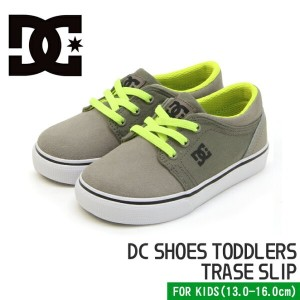 【DC SHOES】ディーシーシューズ T's トレース スリップ ベビー&キッズ ローカット スニーカー DC SHOES TODDLERS TRASE SLIP TAUPE NAVY/GRAY ...