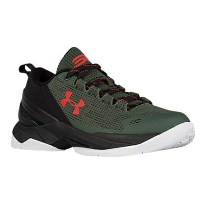 "Under Armour Curry 2 Low ""HOOK""キッズ/レディース Combat Green/Black/Red アンダーアーマー カリー2 バッシュ ステフィン・カリー"