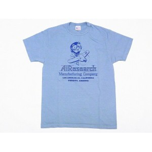 Buzz Rickson's[バズリクソンズ] Tシャツ BR77275 AIRESEARCH (L.BLUE)