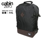 CABINZERO キャビンゼロ バックパック VINTAGE STYLE 44L Absolute Black CZ071201