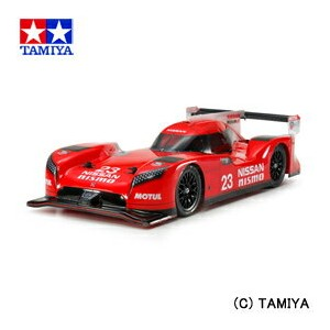 【500円OFFクーポン 6/23 10:00〜6/30 9:59】 【送料無料】 1/10 電動RCカー No.617 NISSAN GT-R LM NISMO Launch version ...