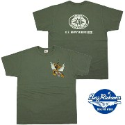 "BUZZ RICKSON'S/バズリクソンズS/S T-SHIRT ""23rd FIGHTER SQ."" フライイングタイガープリントTシャツ OLIVE(オリーブ)/BR77369"