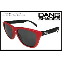 DANG SHADES SWITCH GLOSS RED/BLACK x BLACK vidg00125 トイサングラス
