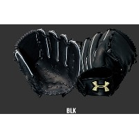 UNDER ARMOUR ユース・少年軟式グラブ (投手用・HS) QBB0255 BLK 右投げ