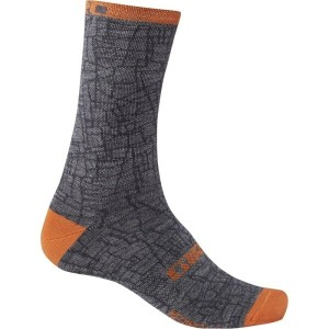ジロ Giro メンズ インナー ソックス【New Road Merino Seasonal Wool Socks】Crackle/Flame
