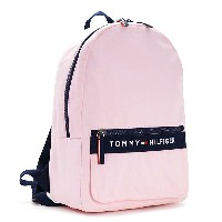 TOMMY HILFIGER 6929787-661BACKPACK PINK/NAVY トミーヒルフィガー バックパックユニセックス キャンバスピンク×ネイビー