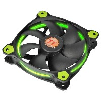 Thermaltake CPUクーラー Riing 12 グリーン CL-F038-PL12GR-A [CLF038PL12GRA]