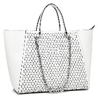 ゲス バッグ GUESS VP504223 WHI NIKKI CHAIN TOTE トートバッグ WHITE