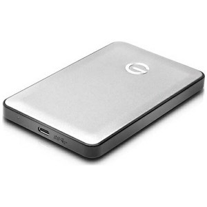 【送料無料】 HGST G-Technology G-DRIVE mobile USB-C 1000GB Silver JP 0G04879 (外付けポータブルHDD/1TB)