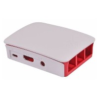 Raspberry Pi Piケース Official for Pi3 赤/白 【909-8132】