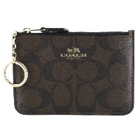 COACH OUTLET コーチ 小銭入れ F63923 IMAA8 シグネチャー キーポーチ ウィズ ガセット coo5