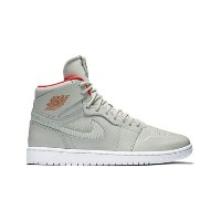 "バスケットシューズ バッシュ スニーカー ナイキ Nike Air Jordan 1 Retro High Nouvea ""Pure Platinum"" P.Platinum/B.Crimson..."