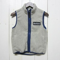 wild things ワイルドシングス [knit fleece vest][kids][grey]