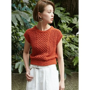 【SALE/49%OFF】SLY HONEYCOMB MG TOPS スライ ニット【RBA_S】【RBA_E】【送料無料】