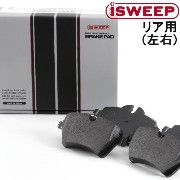 iSWEEP リア用 ブレーキパッド BMW ミニ R60 クーパー S ALL4 ZC16/ZC16A 2011.01〜 品番:793 アイスウィープ IS1500