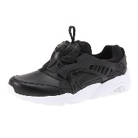 プーマ TRINOMIC DISC BLAZE LEATHER ユニセックス black