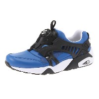 プーマ TRINOMIC DISC BLAZE LEATHER ユニセックス nautical blue