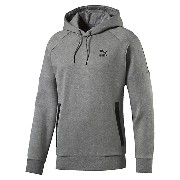 プーマ EVO FOOTBALL LOGO HOODY メンズ medium gray heather