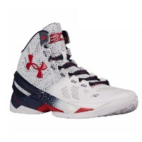 "Under Armour Curry 2 ""USA"" メンズ White/Red/Navy アンダーアーマー バッシュ カリー2 Stephen Curry ステフィン・カリー"
