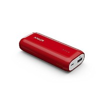 Anker Astro E1 5200mAh コンパクトモバイルバッテリー 急速充電可 iPhone&Android対応 ポーチ付 A1211092