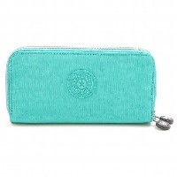 Kipling K15027-86R 長財布 Cool Turquoise UZARIO/キプリング 新作 秋冬 プレゼント ギフト