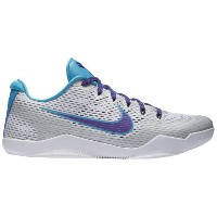 "Nike Kobe XI 11 Low ""Draft Day"" メンズ White/Court Purple/Blue Lagoon ナイキ バッシュ コービー11 Kobe Bryant コービー..."