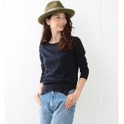 【CLASSY.11月号掲載】JOHN SMEDLEY for Demi-Luxe BEAMS / 別注 シルククルーネック【ビームス ウィメン/BEAMS WOMEN】