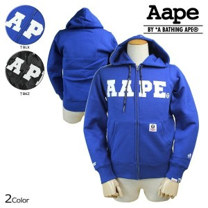 Aape BY A BATHING APE エイプ エーエイプ アベイシングエイプ パーカー ジップアップパーカー 2カラー LETTER MAN AAPE HOODIES メンズ