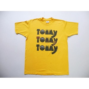 90's■USA製The Who's tommy Tシャツ(L)ロックオペラUKイギリス
