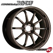 【ADVAN Racing RS-DF(アドバンレーシングRS-DF)】19×9.5J 5/114.3 +29【HBZ(レーシングハイパーブロンズ)】