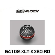 無限 MUGEN 54102-XLT-K3S0-RD CARBON SHIFT KNOB カーボンシフトノブ