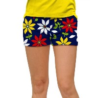 LoudMouth Ladies She Loves Me Not Mini Shorts (#SS) 【ゴルフ レディース>パンツ】